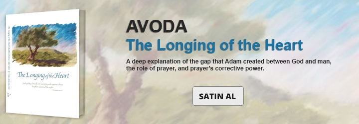 AVODA – Divine Service: The Longing of the Heart